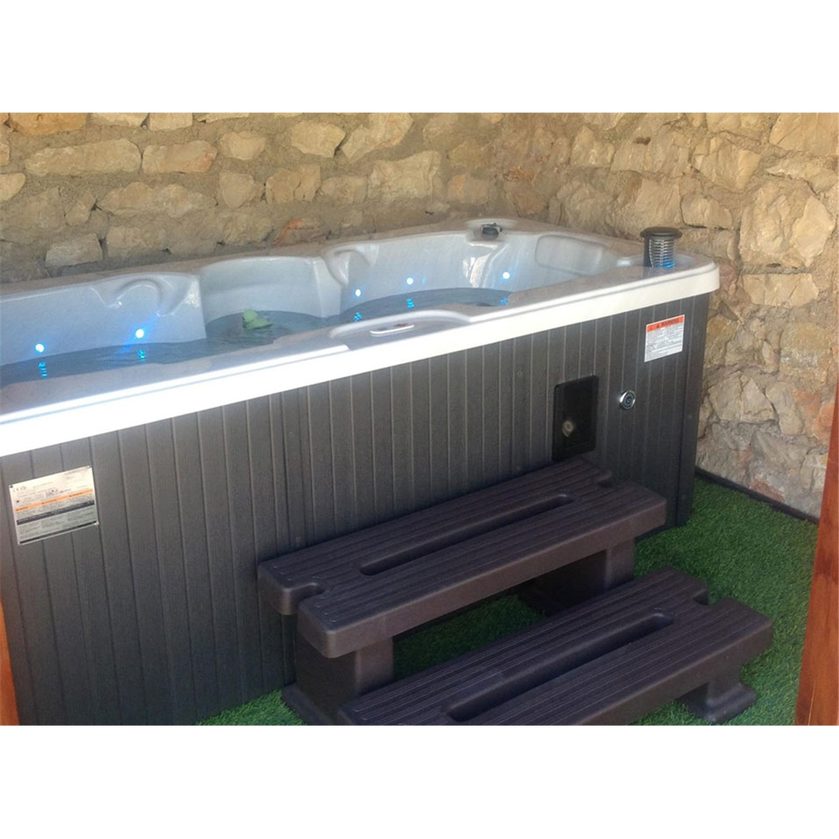 Yukon Plug And Play 2 Person Hot Tub 213m X 100m Free Wiring Cost Uk Delivery Install Chemical Kit Worth 120 Homeberry