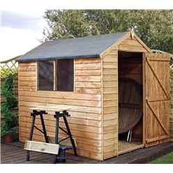 7 x 5 buckingham value apex garden shed