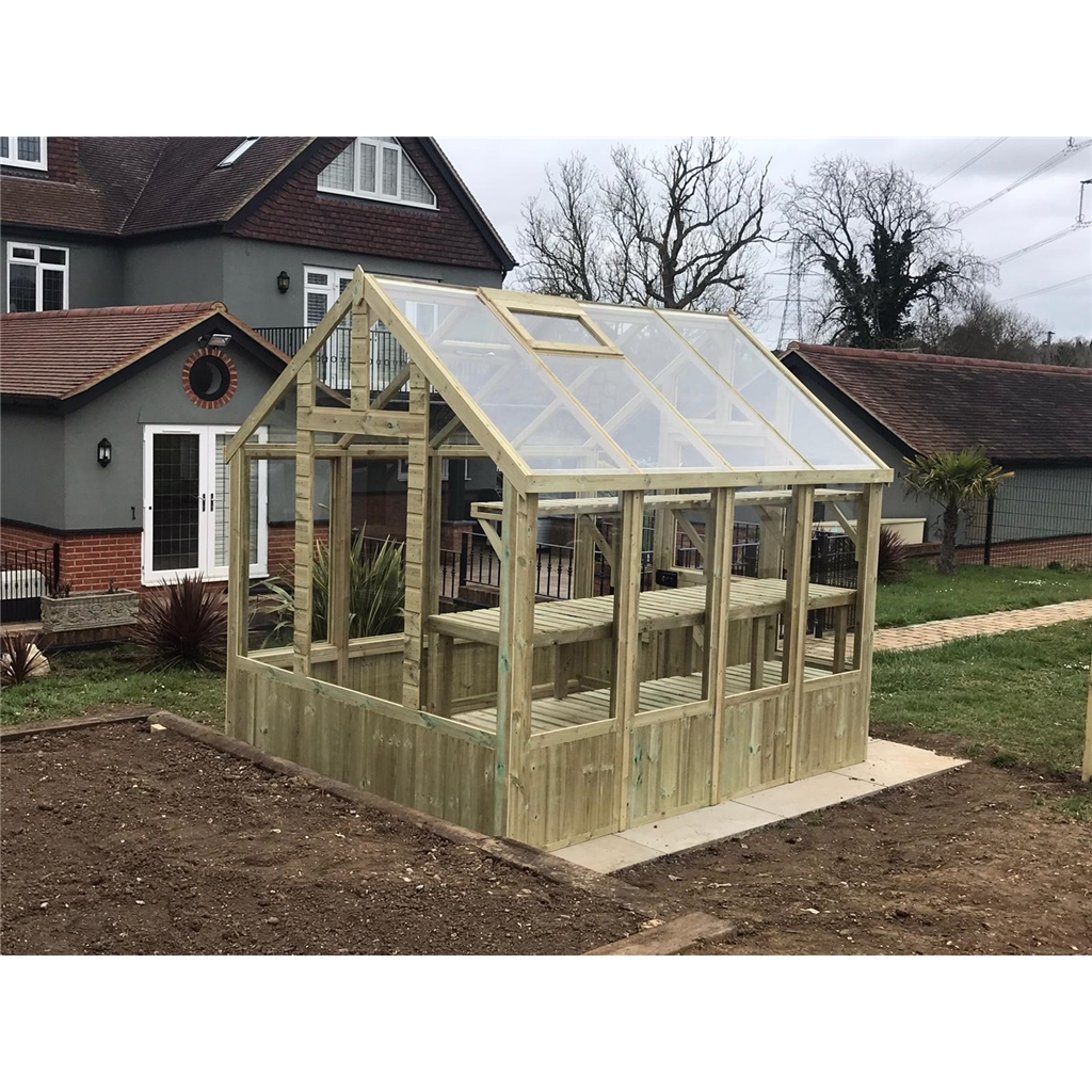 Our Pressure Treated Greenhouses Are Now Available